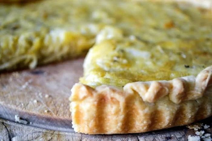 Elizabeth David's elegant Onion Tart