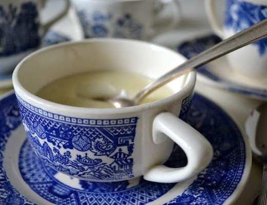 Vanilla Bean Bourbon Pudding