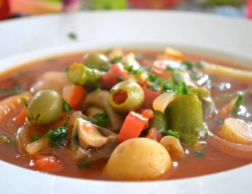 Menestra de Verduras, Spanish Vegetable Soup