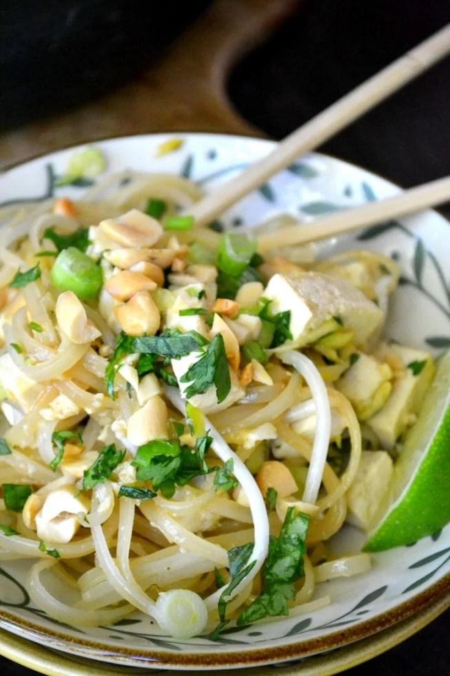 Spicy Tofu Pad Thai