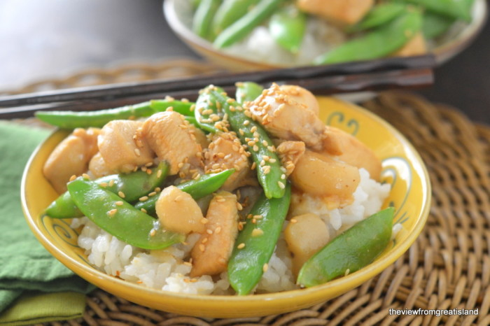 Chicken with Snow Peas 5