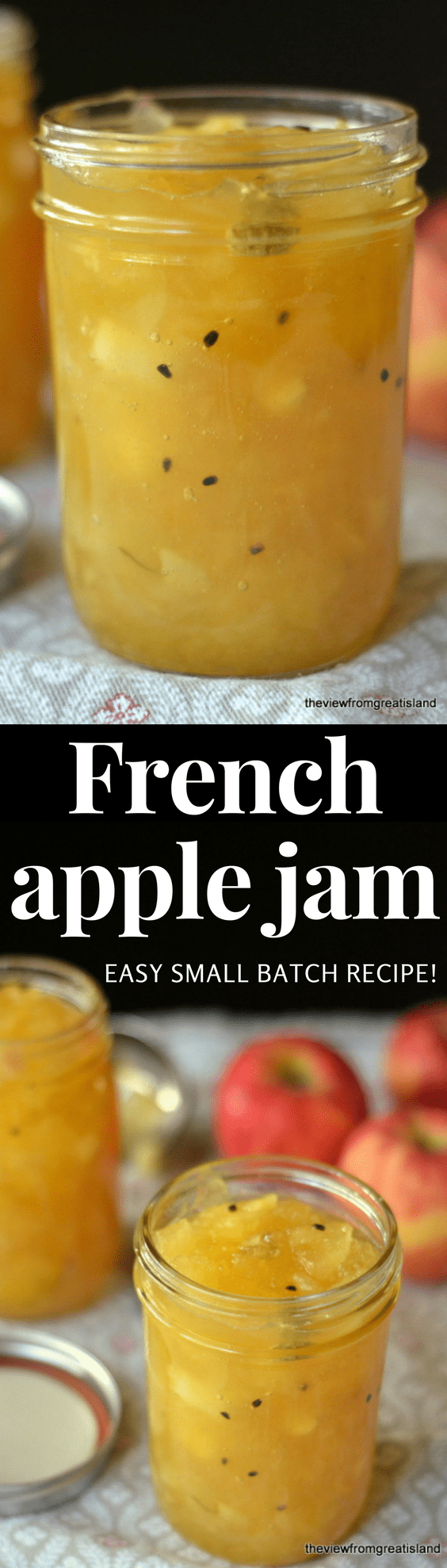 Easy French Apple Jam Recipe The View From Great Island
