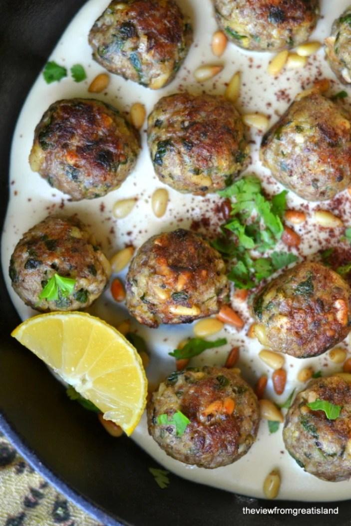 Moroccan Lemon and Cardamom Meatballs 4