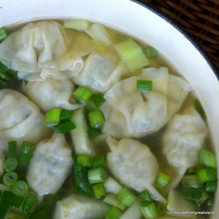 Miso Wonton Soup 2
