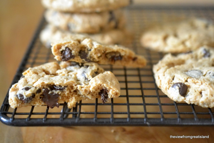 flourless cashew butter chocolate chip cookies 11