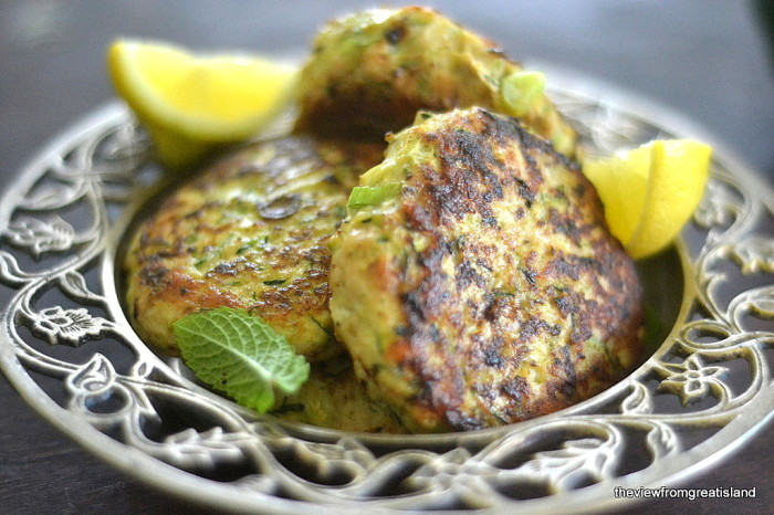 Turkey & Zucchini Burgers with Green Onion and Cumin 5