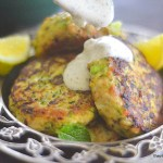 Turkey & Zucchini Burgers with Green Onion and Cumin 1