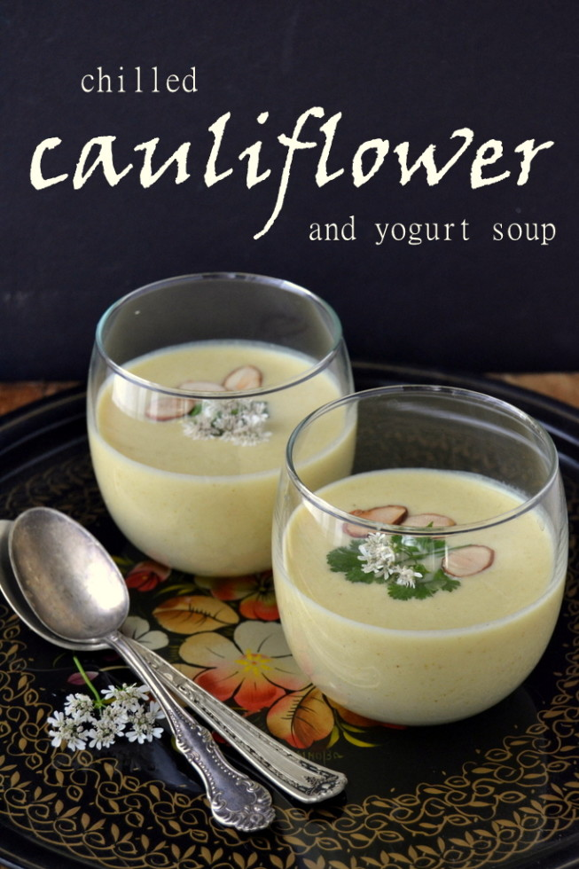Chilled Cauliflower and Yogurt Soup 1