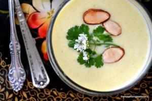 Chilled Cauliflower and Yogurt Soup 4