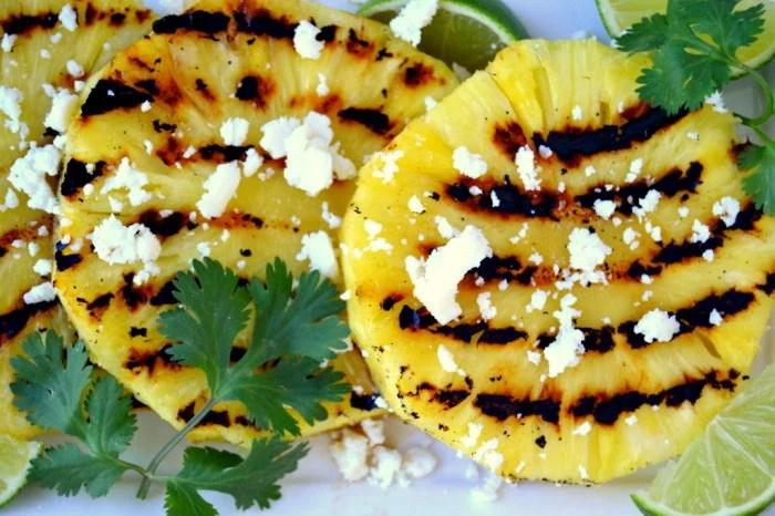 Grilled Pineapple Salad 4