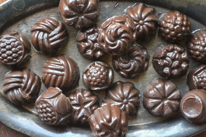 DIY Filled Chocolate Candy
