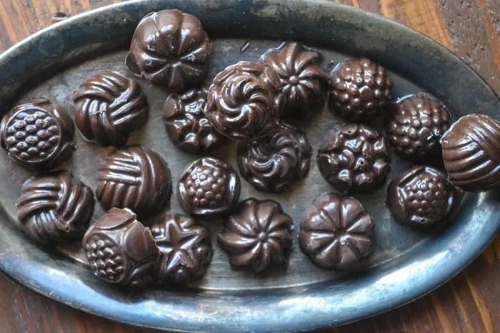 Meyer Lemon Filled Chocolates