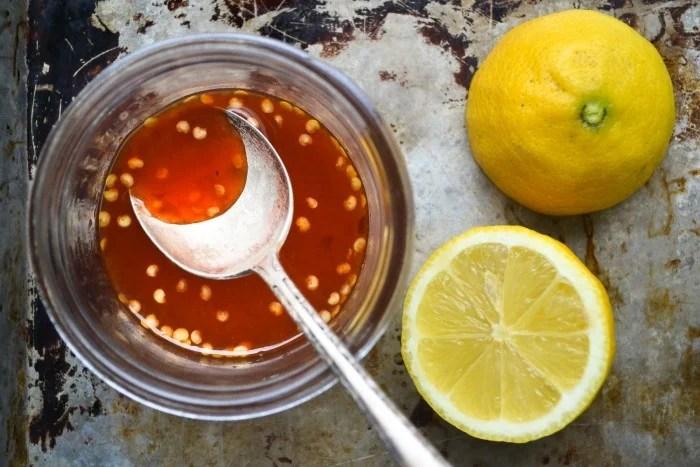 grapefruit and sumac dressing