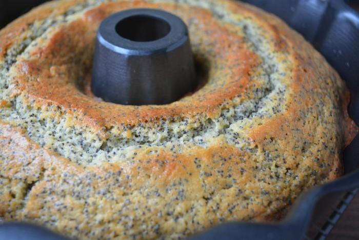 Just baked grapefruit poppy seed cake