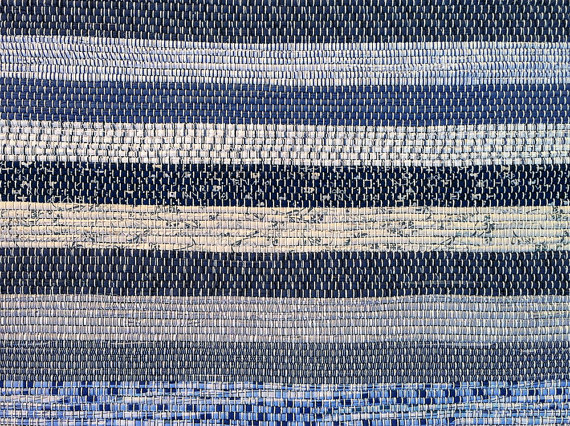closeup of a vermontrugfarm rug
