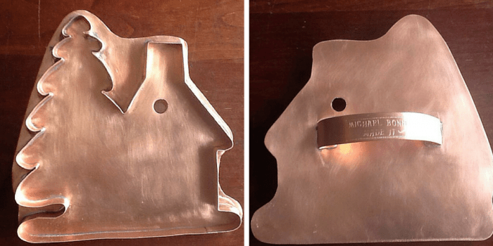 copper cookie cutter