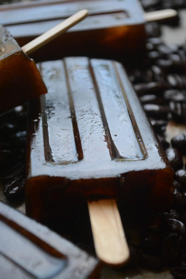 iced Turkish Coffee on a stick