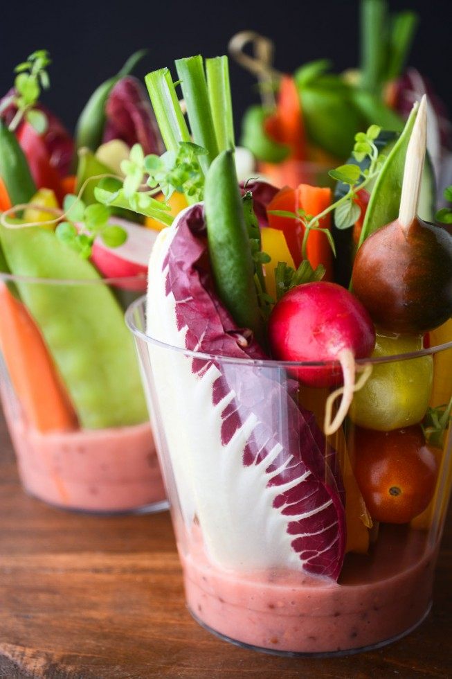 individual salad cups with