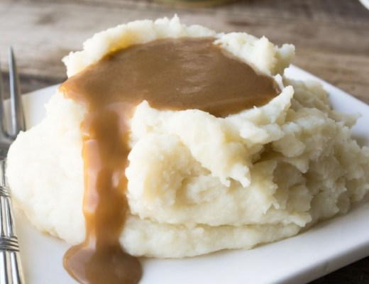 Gravy made with Swanson Broth