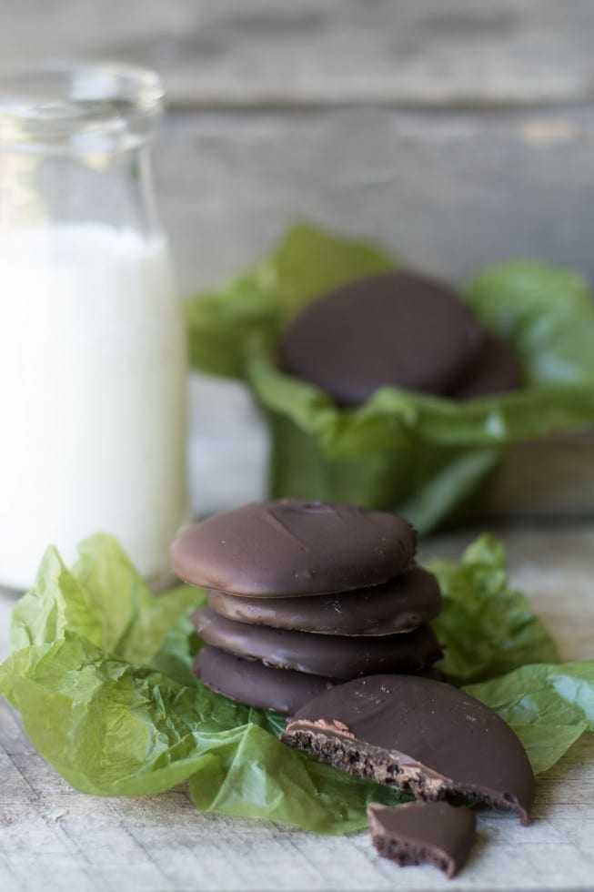 Easy to make Gluten Free Thin Mint Cookie Recipe