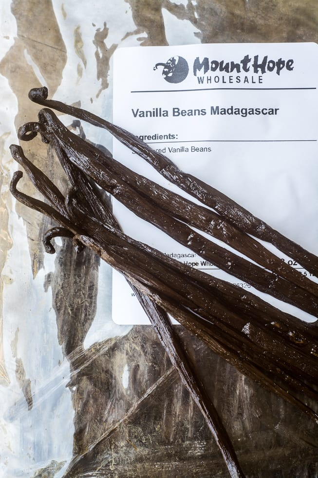 Bulk Vanilla Beans for No Churn Vanilla Bean ice Cream | theviewfromgreatisland.com