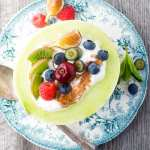 Melon Breakfast Bowls filled with yogurt and fruit is the perfect way to tempt the family into eating the most important meal of the day... | theviewfromgreatisland.com