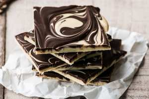 Cashew Tiger Butter is an irresisitible combination of chocolate and cashew butter! ~ theviewfromgreatisland.com