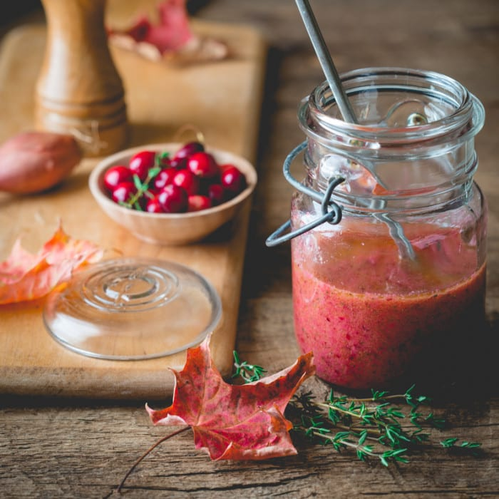 Cranberry Vinaigrette from Healthy Seasonal Recipes