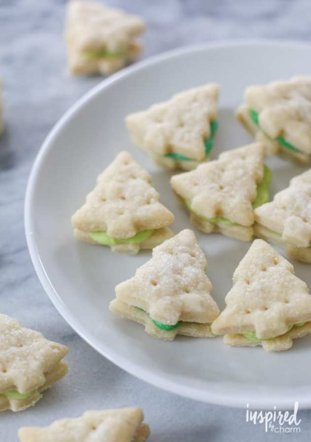 Wafer Tree Cookies from Inspired by Charm