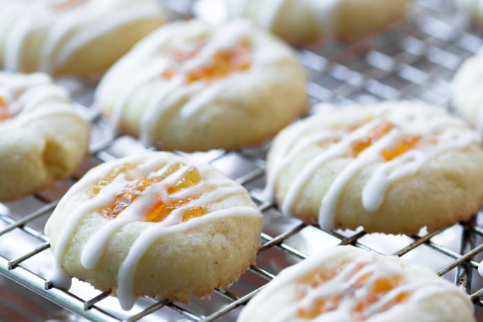 Simple Marmalade Thumbprints are classic holiday cookies ~ theviewfromgreatisland.com
