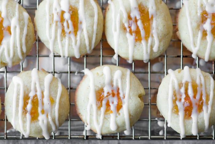 Marmalade Thumbprint Cookies ~ theviewfromgreatisland.com
