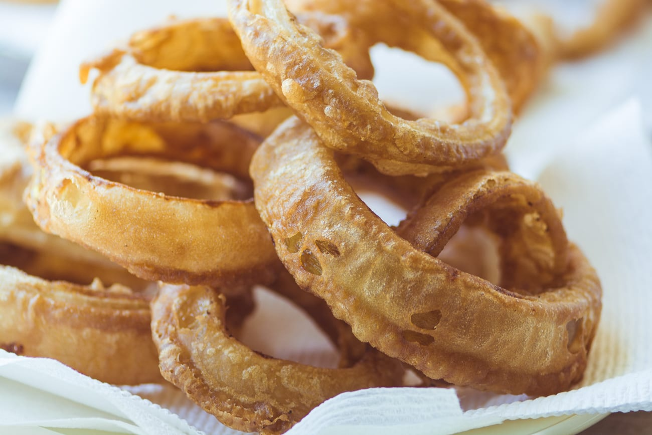 Guinness Battered Onion Rings