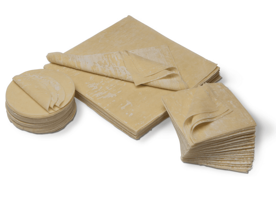 Fresh dumpling wrappers