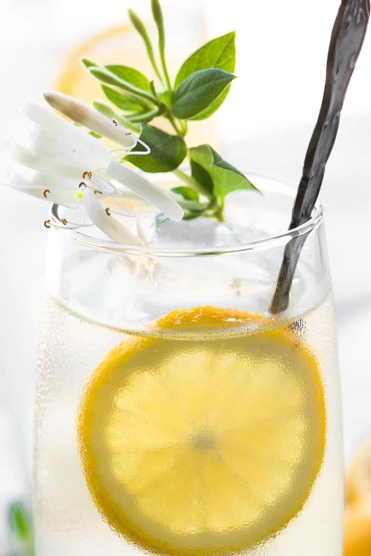 Honeysuckle Vodka Lemonade