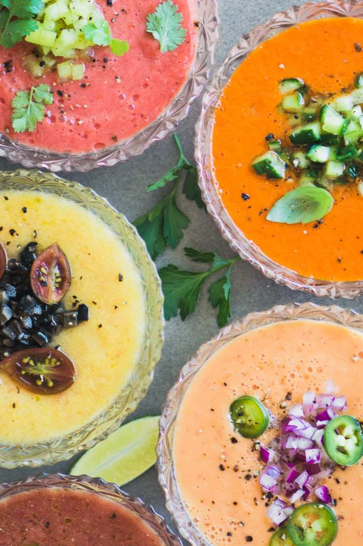 Best Heirloom Tomato Recipes ~ heirloom tomato gazpacho