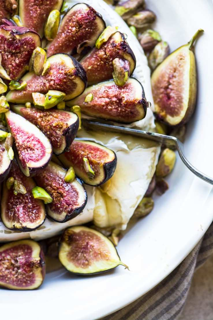 What to Eat Now: Figs | Baked Brie with Figs
