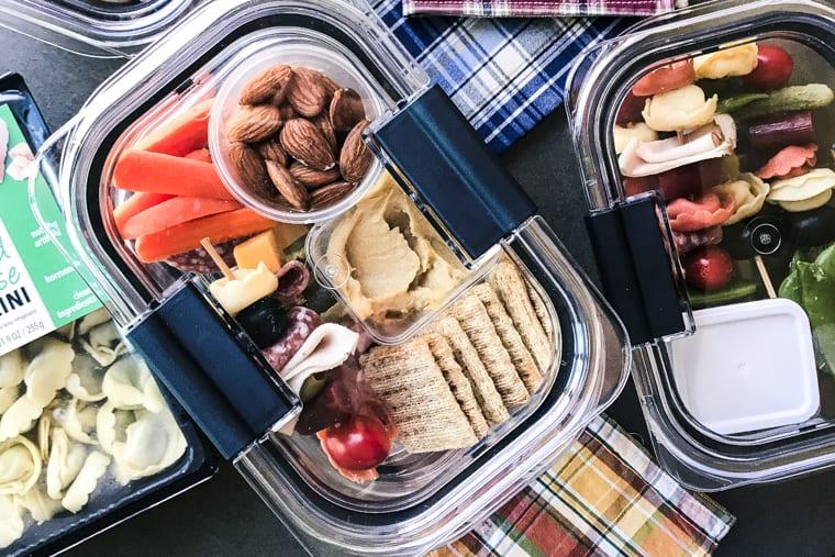 Tortellini Skewer Lunch Prep Boxes