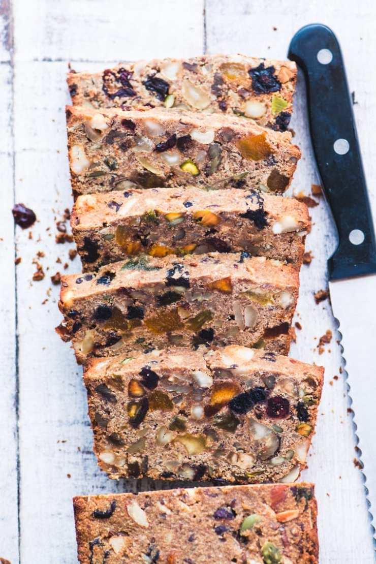 TVFGI's 10 Most Popular Summer Receipes ~ Paleo Fruit and Nut Bread