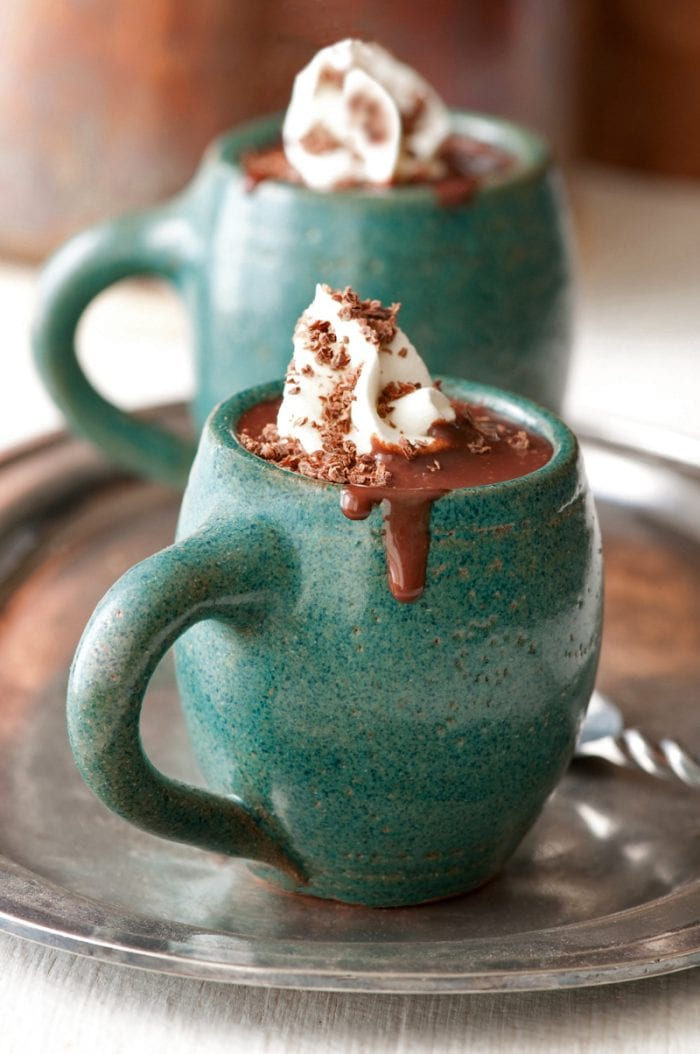 thick and spicy hot chocolate