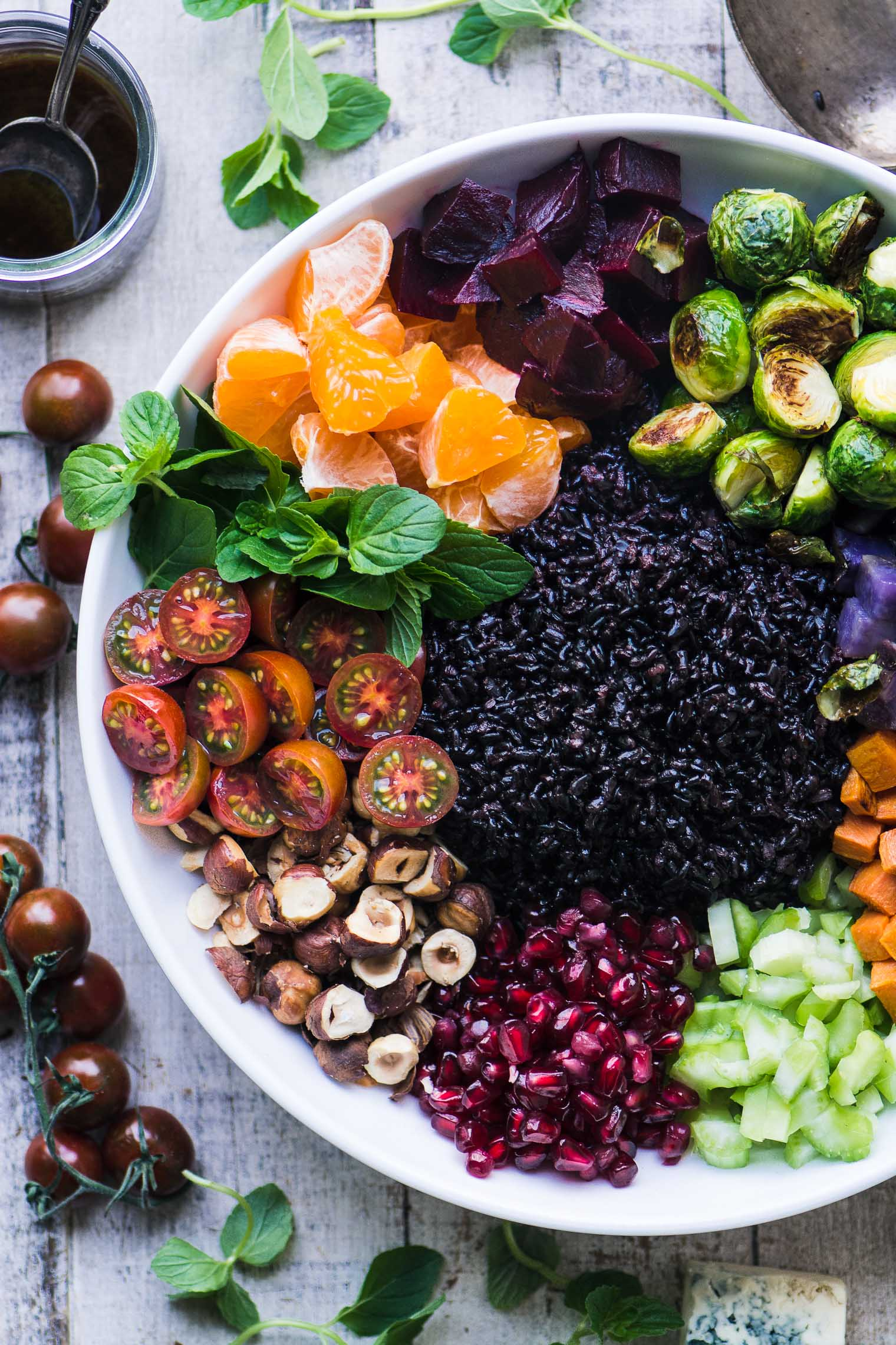 Winter Black Rice Salad