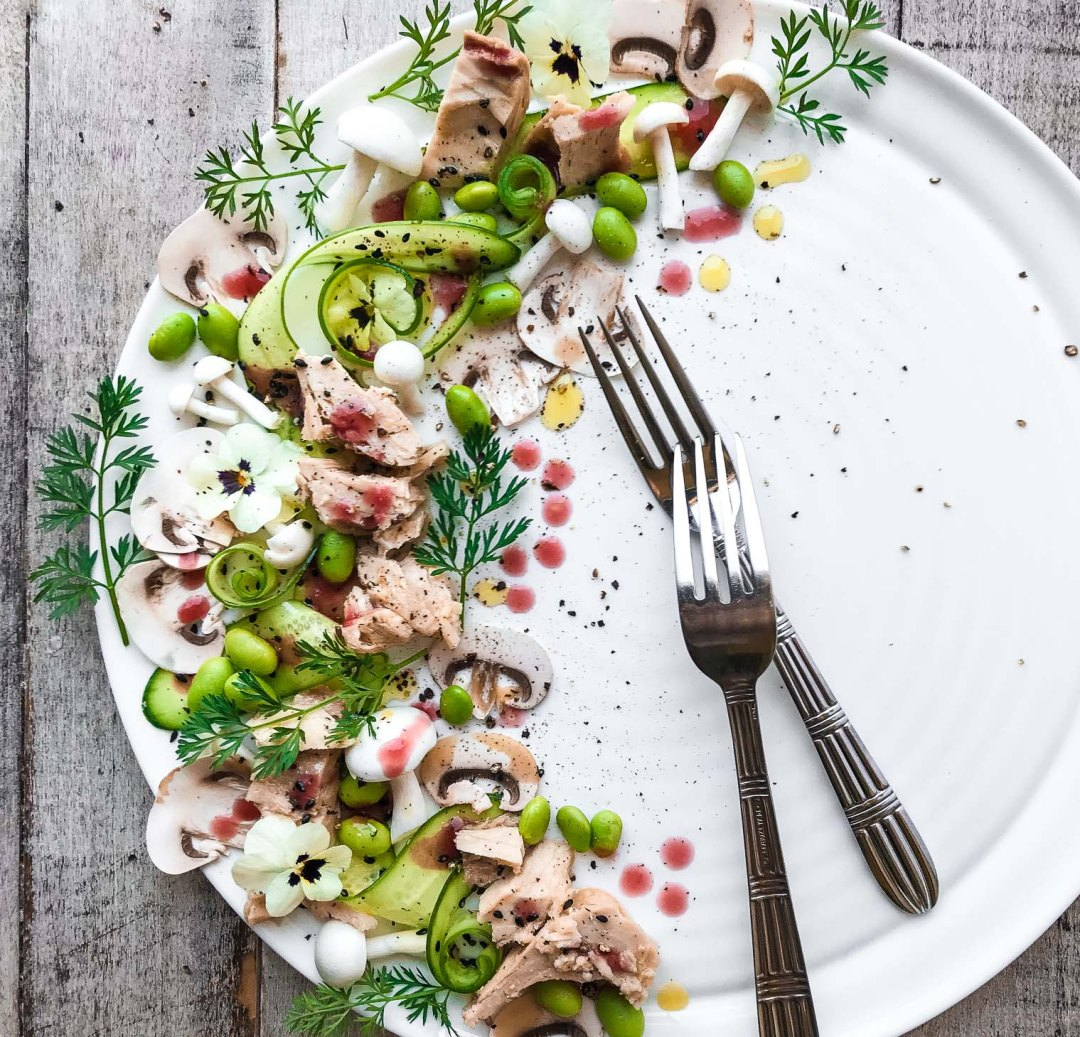 Pretty Plated Tuna Salad image