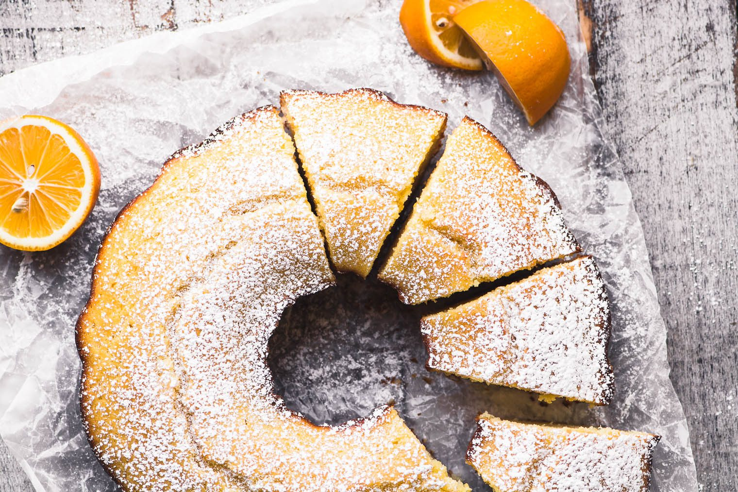 Lemon Yogurt Breakfast Cake