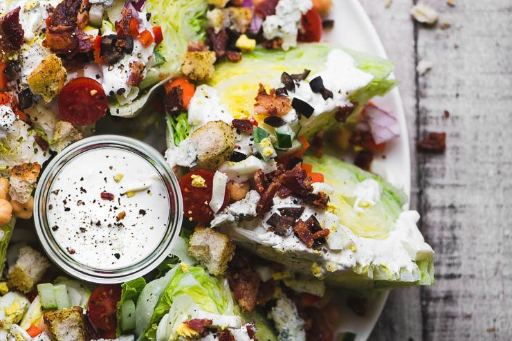 Fully Loaded Wedge Salad