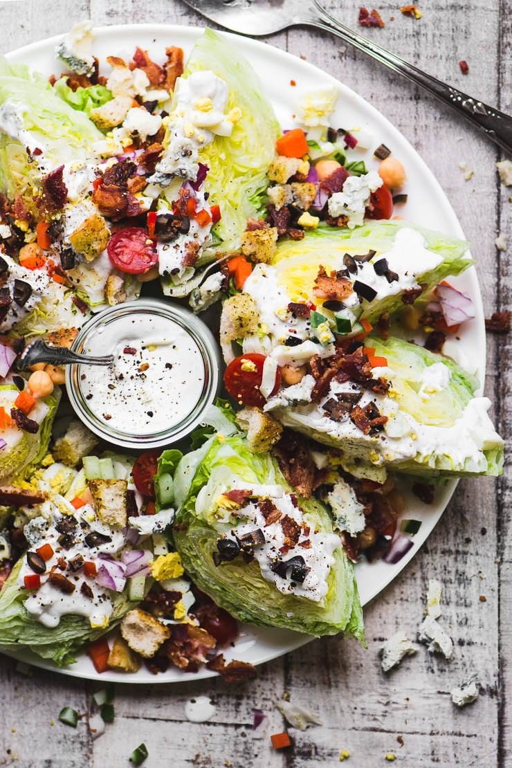 Fully Loaded Wedge Salad | The View from Great Island