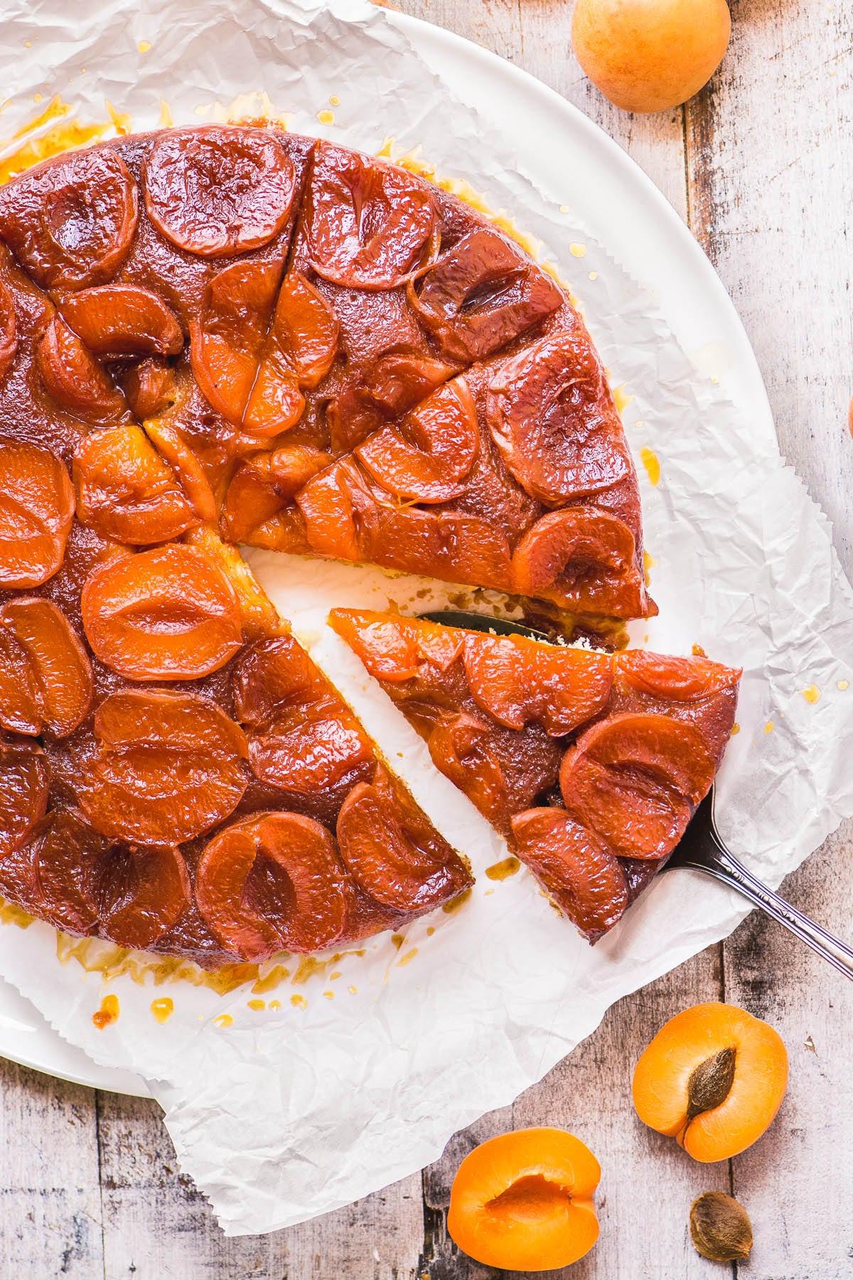 Caramelized Apricot Tart