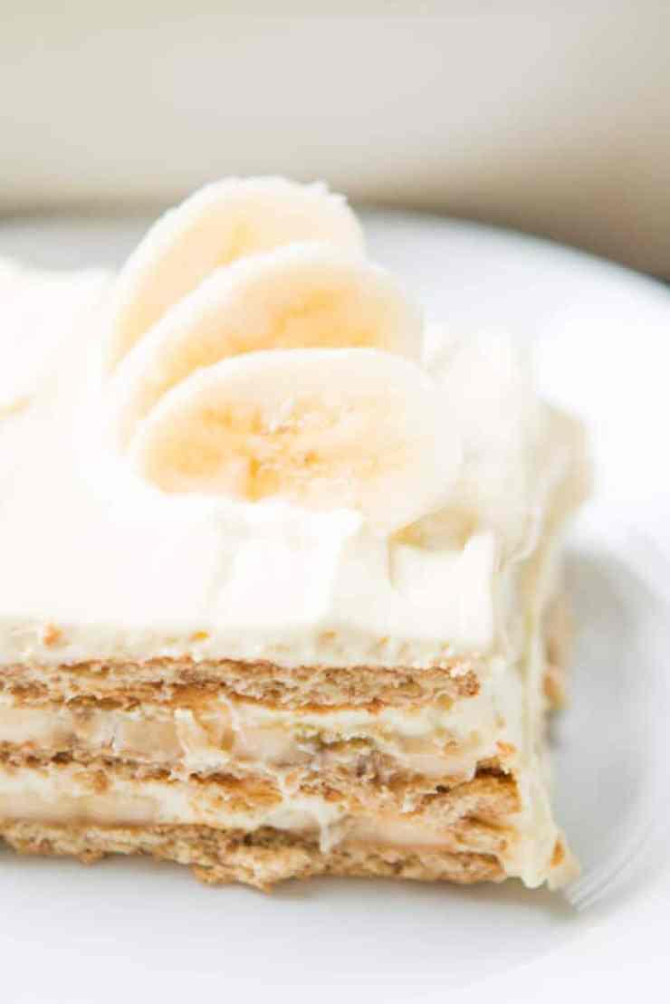 Summer's best icebox cakes ~ Banana Cream Icebox Cake