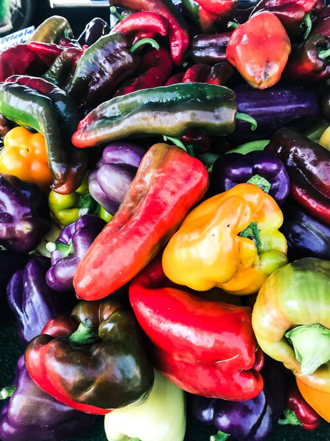 Peppers for Spaghetti Peperonata with Tuna and Olives