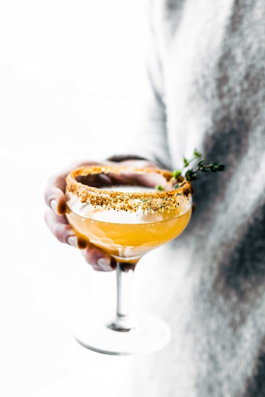 Roasted Pear Sparkling Cocktail