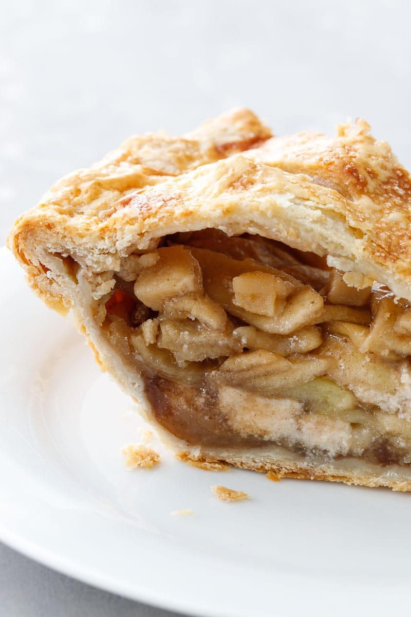 Marzipan Apple Pie