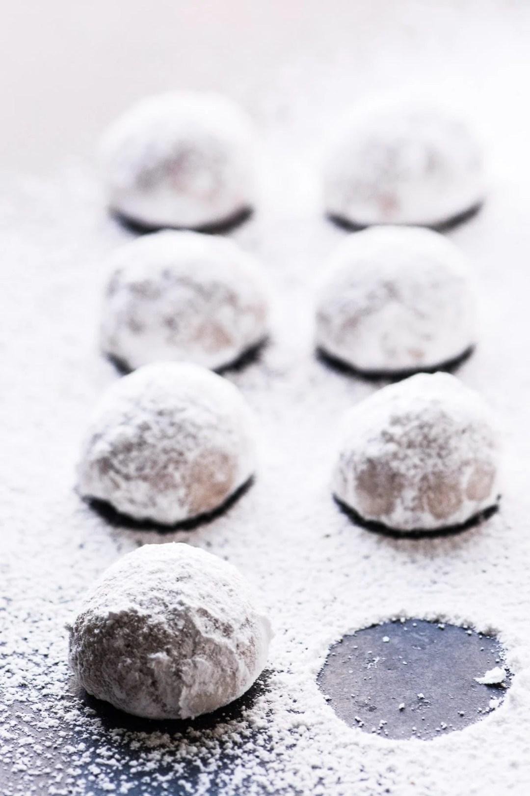 Toasted Almond Russian Tea Cakes